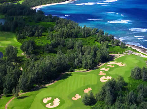 Turtle Bay Golf Course – 20 minutes from Backpackers Hawaii